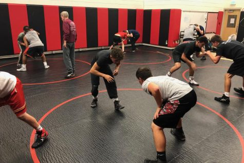 Wrestling team has high hopes for repeat success