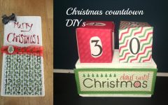 Christmas Countdown:  Two easy DIYs to make the holidays crafty