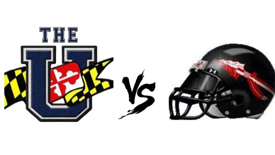 Hawks vs. Lancers football.