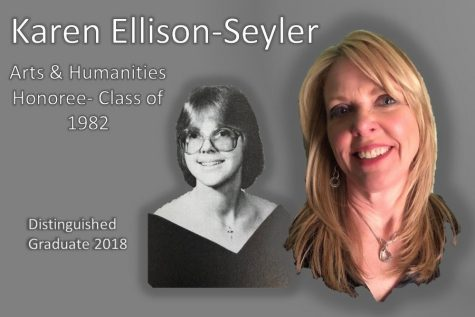 Distinguished Graduates 2018: Karen Ellison-Seyler brings back the 80's with The Reagan Years