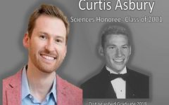 Distinguished Graduates 2018: Curtis Asbury–great student becomes great doctor