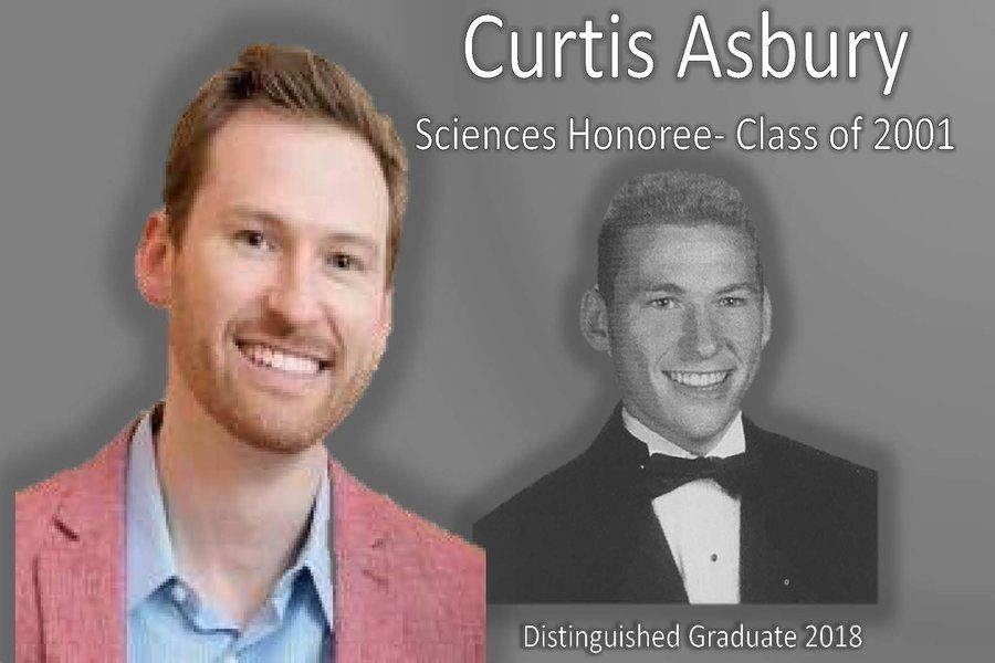 Then and Now: Distinguished Graduate Curtis Asbury