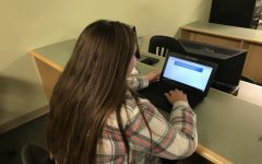 Students and staff take MSDE pilot climate survey: Photo of the Day 11/8/18