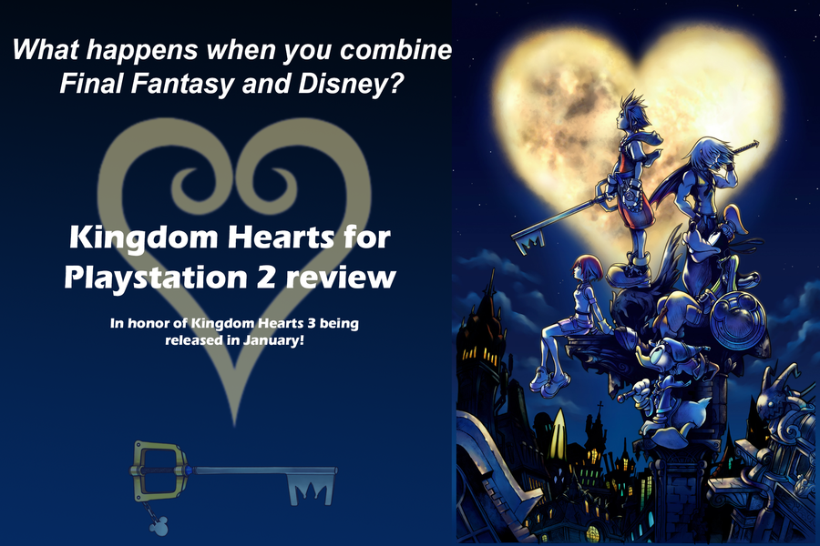 Disney and Final Fantasy combined creates Kingdom Hearts.