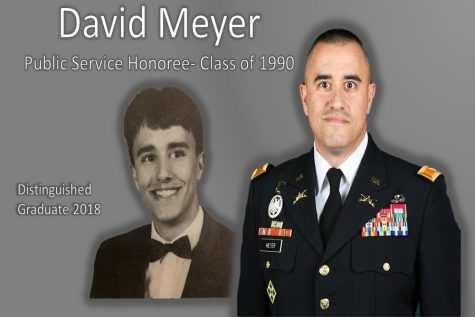 Distinguished Graduates 2018: David Meyer – from serving his school to serving his country