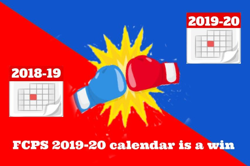 FCPS 2019-20 draft calendar is a win