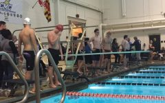 Diving into the swim team