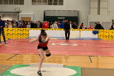 Indoor track and field participates in their first meet