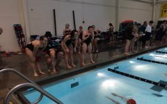 Swimming and diving girls win first meet against Urbana: Photo of the Day 12/11/18