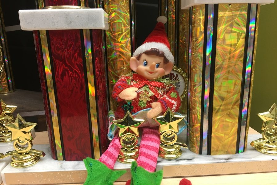 12/6/18: Where did Elfie take the selfie?