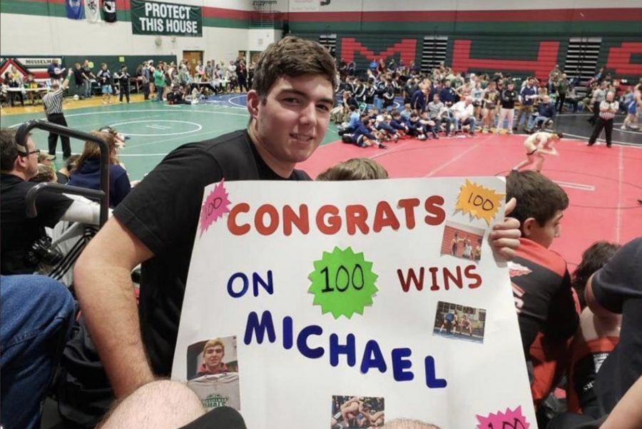 Michael+Bromley+celebrating+his+100th+win