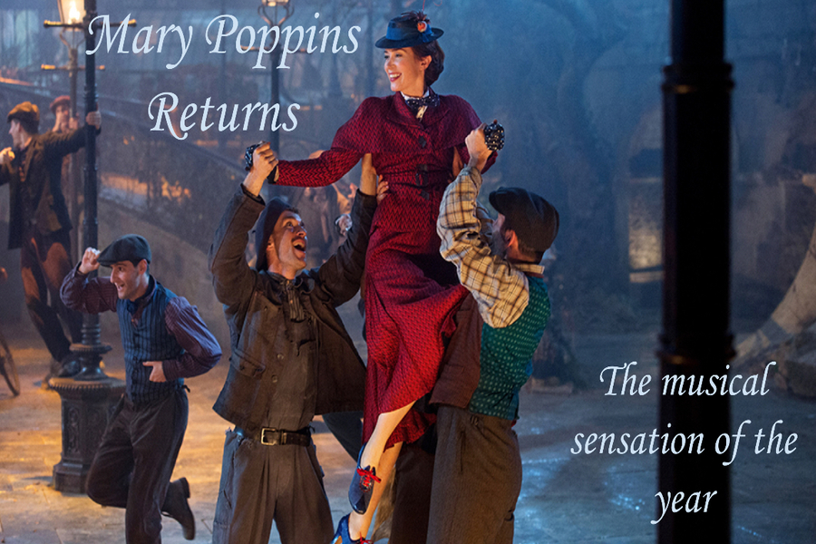 Mary Poppins Returns is old and new at the same time.