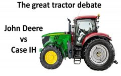 The great tractor debate – John Deere or Case IH?