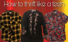 How to Thrift Like a Teen: Tips to update your 2019 wardrobe