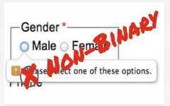An Open Letter to FCPS: The necessity of adding a non-binary option on school-related forms