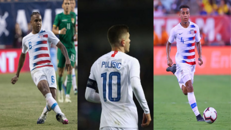 Weston McKennie, Christian Pulisic, and Tyler Adams are among the NT's rising stars.