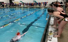 Girls swimming drowns T.J. opposition in fifth meet