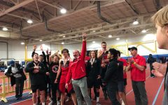 Boys indoor track repeats, takes home first state championship of the school year