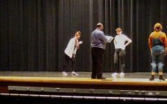 """Drama deep in rehearsal for spring musical """"Beauty and the Beast"""": Photo of the Day 2/9/19"""
