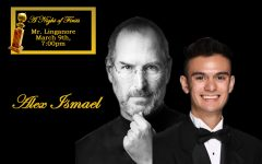 Ismael portrays technology pioneer Steve Jobs in Mr. Linganore competition