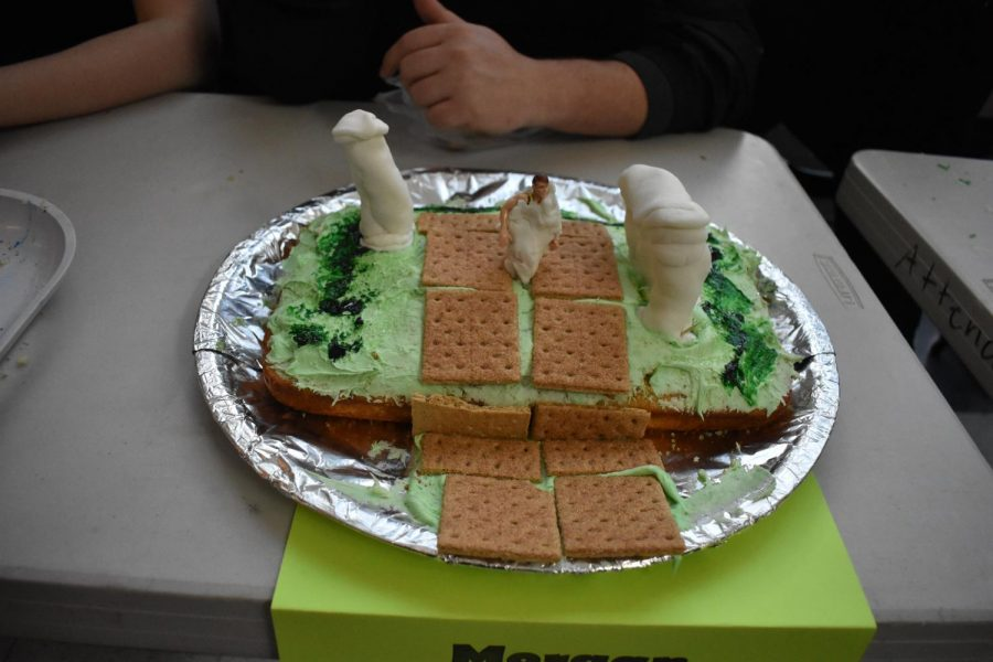 Morgan Fink's Zeus themed cake
