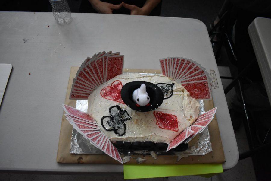 Noah+Price%27s+Harry+Houdini+themed+cake