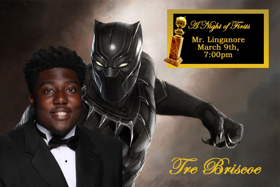 Briscoe claws away the competition as the Black Panther at Mr. Linganore