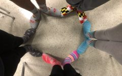 Students support World Down Syndrome Day by wearing #LotsOfSocks : Photo of the day 3/21/19