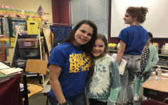 NEHS members write pen pal letters to Centerville first grade: Photo of the Day 4/23/19