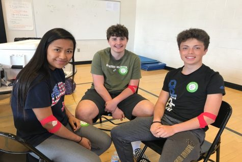 "Students and staff ""Bleed for the Throne"" in Spring 2019 blood drive: Photo of the Day 4/19/19"