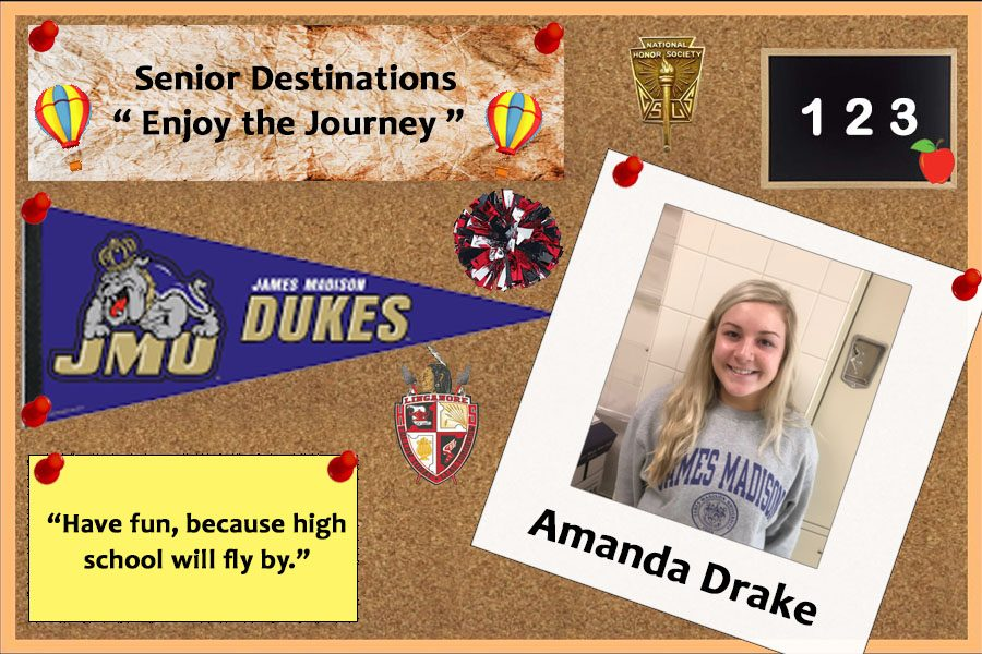 Senior Destination 2019: Amanda Drake hits the books at James Madison University
