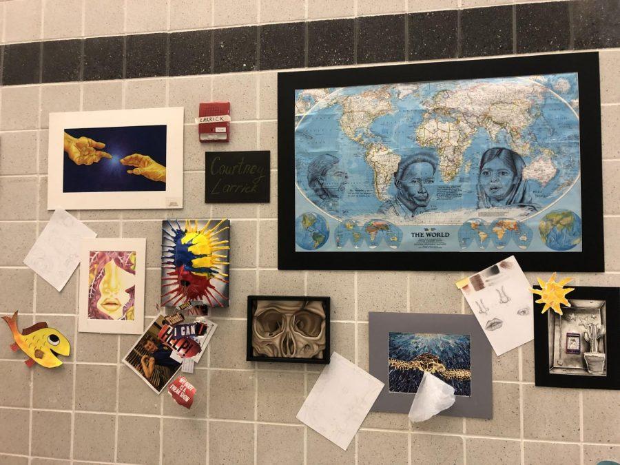 Courtney Larrick's display