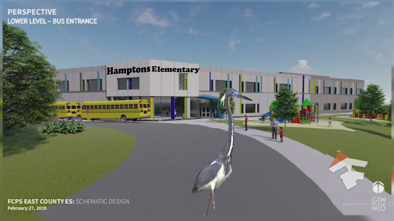 A new design for an Elementary school that will serve the Lake Linganore community.