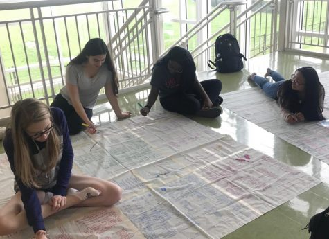 AP World students close the curtains studying for final exam: Photo of the Day 5/15/19