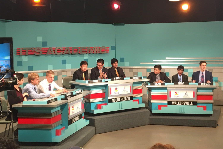 Dana Kullgren, Gunnar Eklund, and Dominic Barbagallo compete on  television show