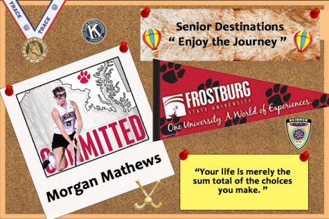 Senior Destinations 2019: Morgan Mathews hurdles over challenges to go to Frostburg