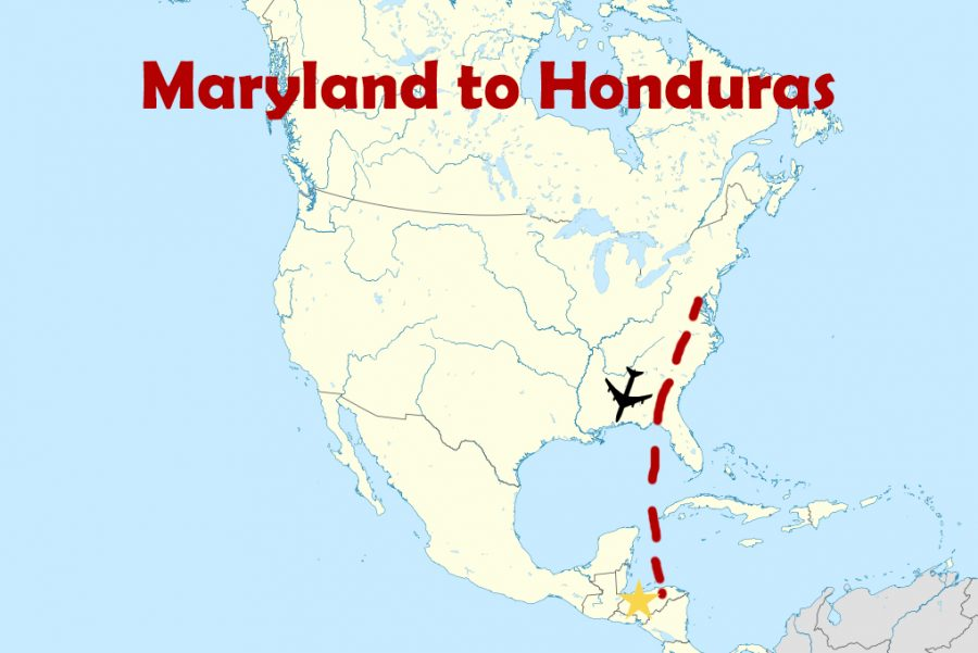 Rachel Eaves will be traveling from Maryland to Honduras.