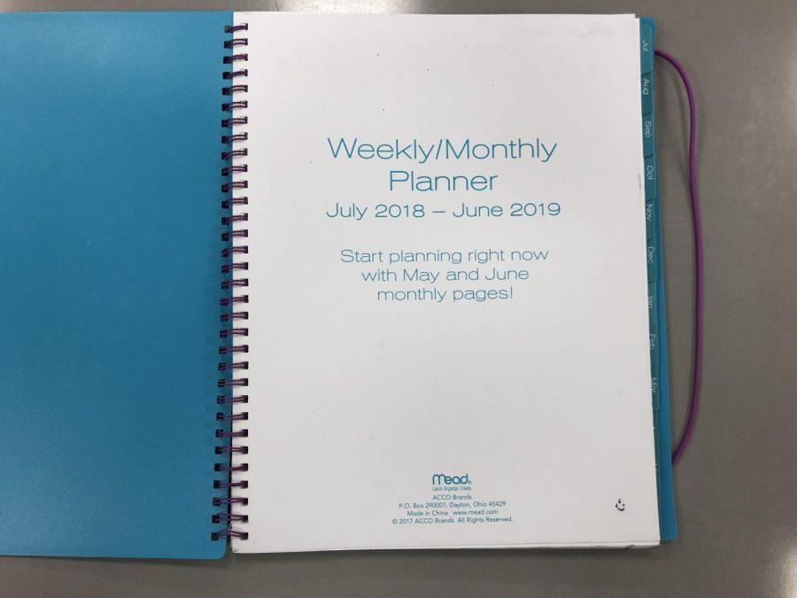 Use an agenda to keep track of homework.
