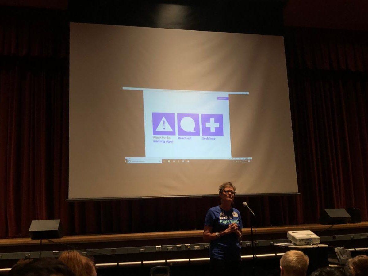 Jill Martin discusses preventative measures for suicide.