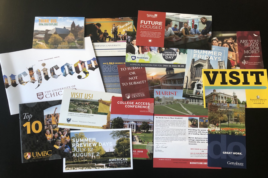 Juniors receive dozens of letters and brochures from colleges, but how can they stand out in their applications?