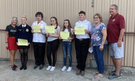 New FFA members recognized at Green Hand award ceremony