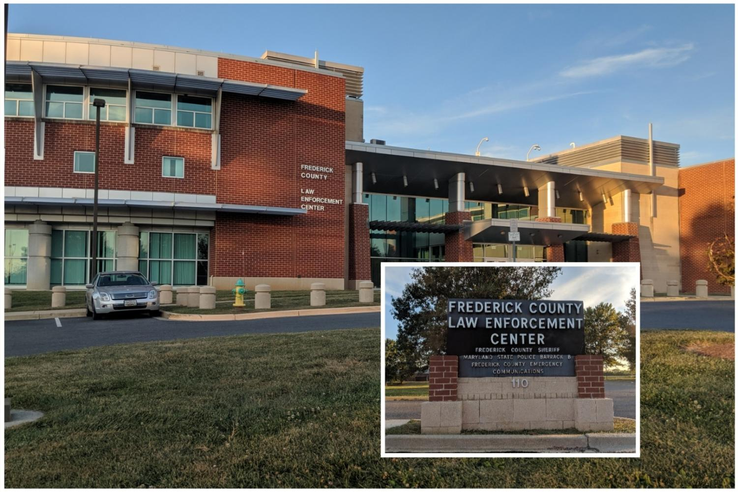 The Frederick County Law Enforcement Center, located at 110 Airport Drive.