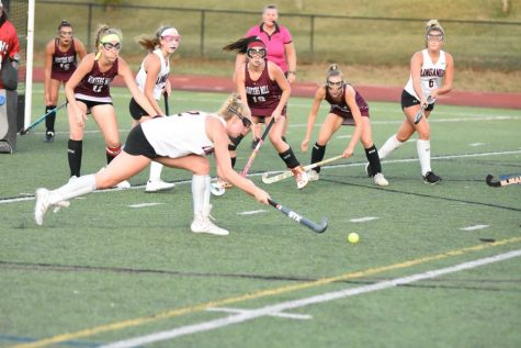 Varsity field hockey opens the season with a hard fought game against the Winters Mill Falcons: Photo of the Day 9/10/19
