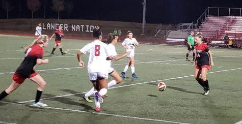 Girls soccer won against TJ.