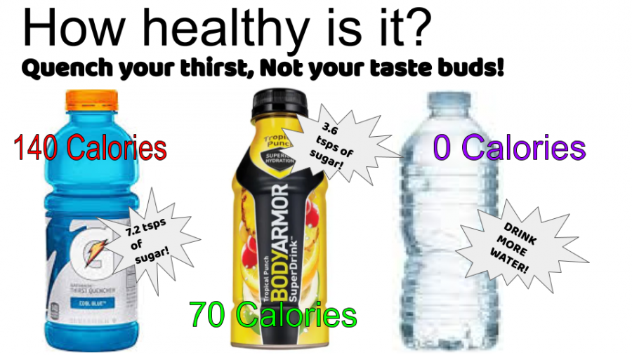 Only water is the natural choice.