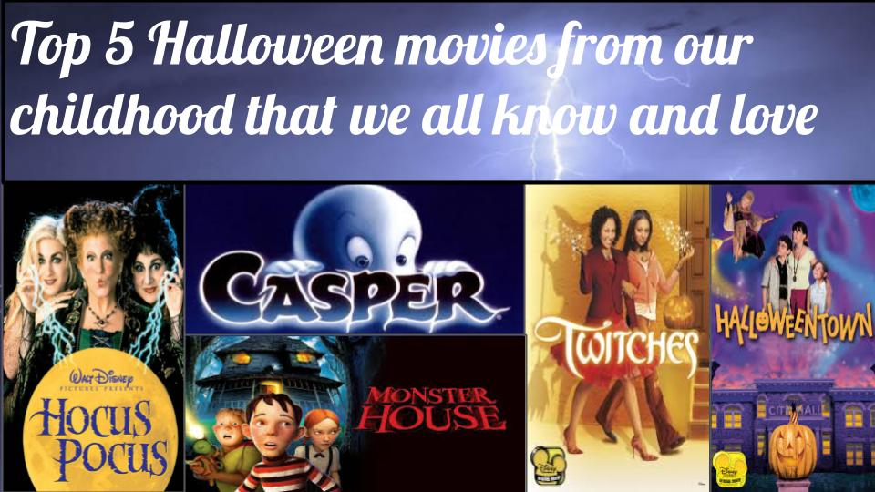 Halloween is the perfect time for a movie marathon from your childhood.