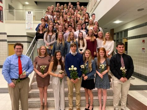 National English Honor Society inducts officers, members: Photo of the Day 10/29/19