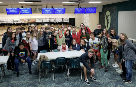 The Unified Physical Activity class was on a roll to bowl at the Mt. Airy Bowling: Photo of the Day 10/12/19