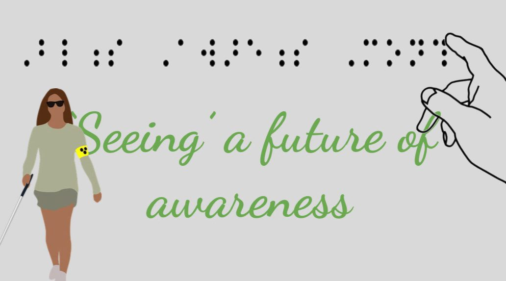 We need to be more aware of the 285 million people worldwide who are visually impaired.