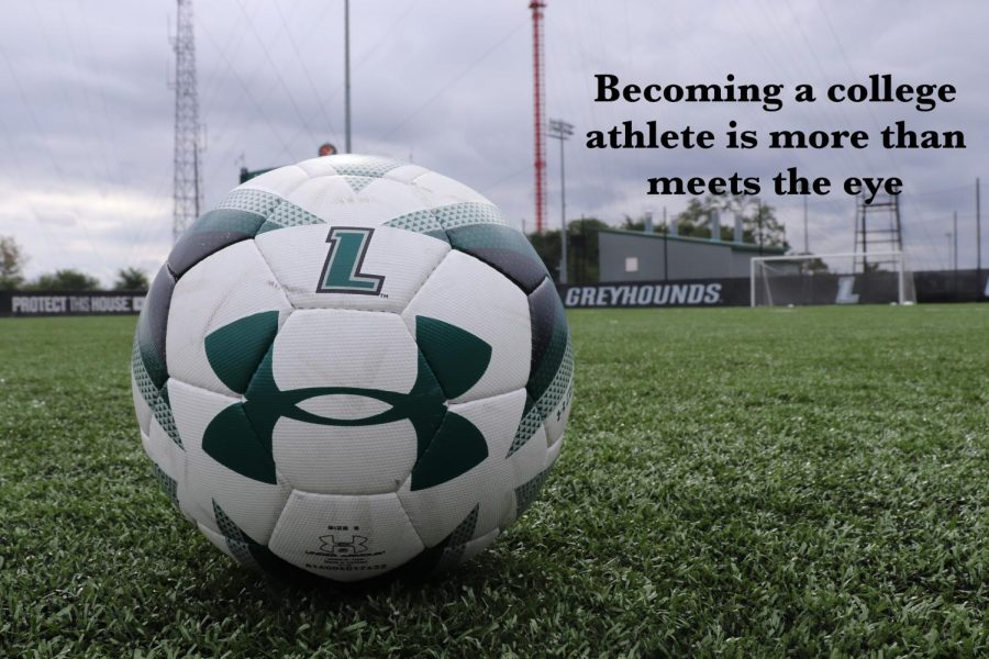 Becoming a college athlete is more than meets the eye.